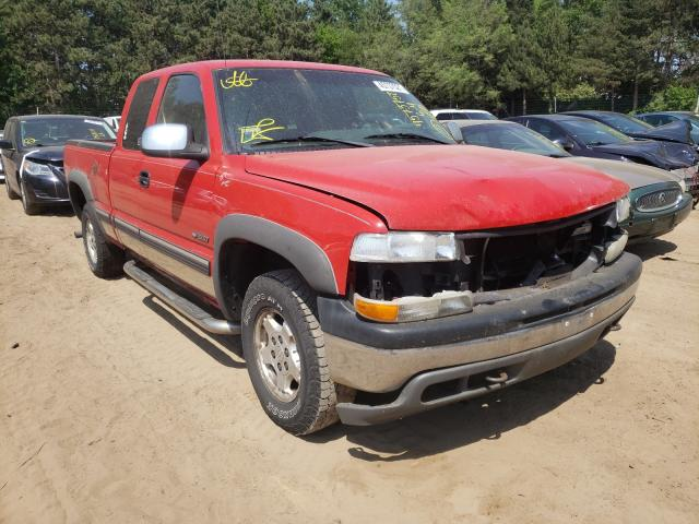 Salvage cars for sale from Copart Ham Lake, MN: 2002 Chevrolet Silverado