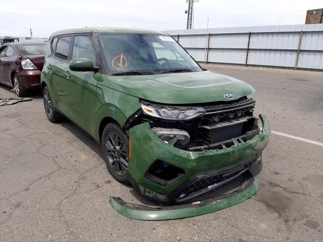 Salvage cars for sale from Copart Fresno, CA: 2021 KIA Soul EX