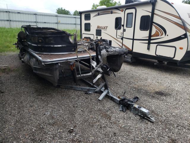 Salvage boats for sale at Davison, MI auction: 2013 Crestliner Boat TRL