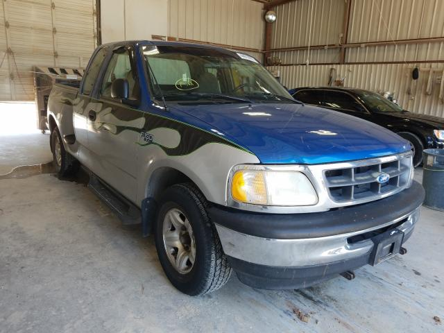 Salvage cars for sale from Copart Abilene, TX: 1997 Ford F150