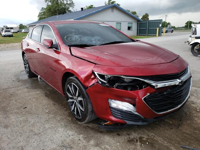 Salvage cars for sale from Copart Sikeston, MO: 2020 Chevrolet Malibu RS
