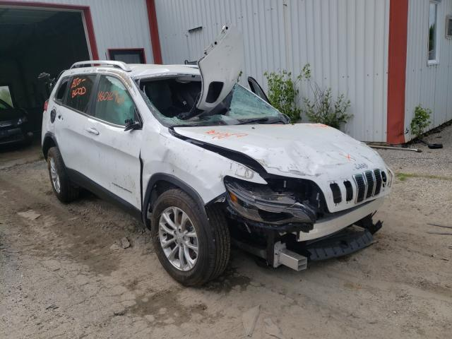 Salvage cars for sale from Copart Lyman, ME: 2019 Jeep Cherokee L