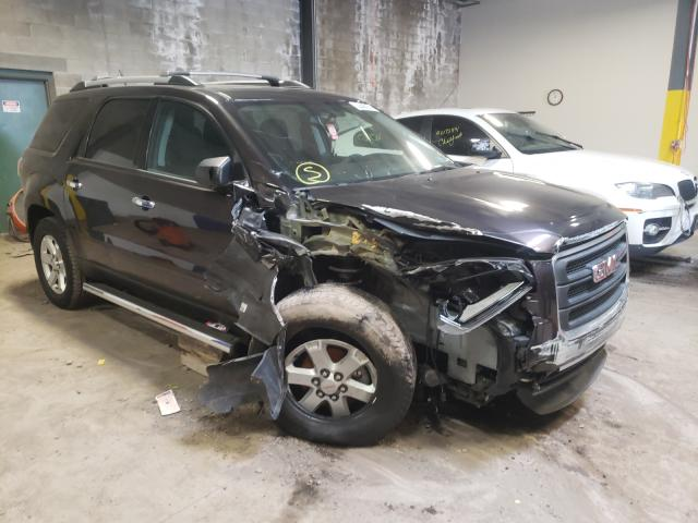 Salvage cars for sale from Copart Chalfont, PA: 2016 GMC Acadia SLE
