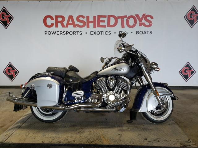 Indian Motorcycle Co. Springfiel salvage cars for sale: 2017 Indian Motorcycle Co. Springfiel
