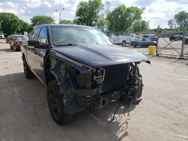 Salvage cars for sale from Copart Wheeling, IL: 2018 Dodge RAM 1500 SLT