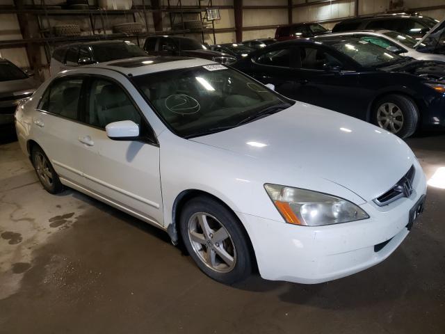 Salvage cars for sale from Copart Eldridge, IA: 2003 Honda Accord EX