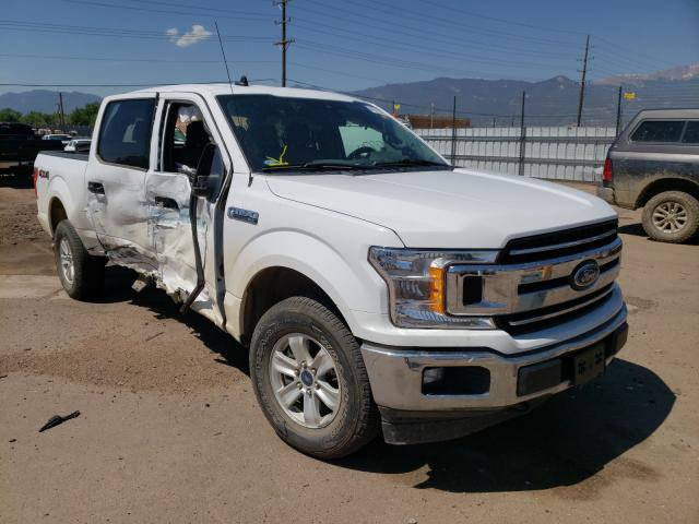 Salvage cars for sale from Copart Colorado Springs, CO: 2019 Ford F150 Super