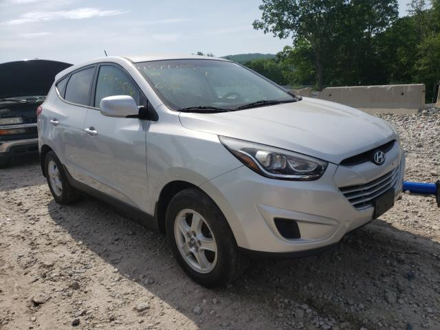Salvage cars for sale from Copart West Warren, MA: 2015 Hyundai Tucson GLS