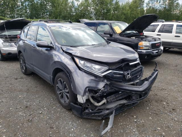 Salvage cars for sale from Copart Arlington, WA: 2020 Honda CR-V EXL
