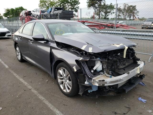 Salvage cars for sale from Copart Brookhaven, NY: 2019 Honda Accord LX