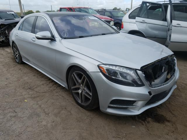 Salvage cars for sale from Copart West Palm Beach, FL: 2015 Mercedes-Benz S 550