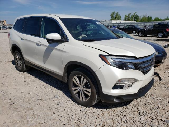 Salvage cars for sale from Copart Appleton, WI: 2016 Honda Pilot EX