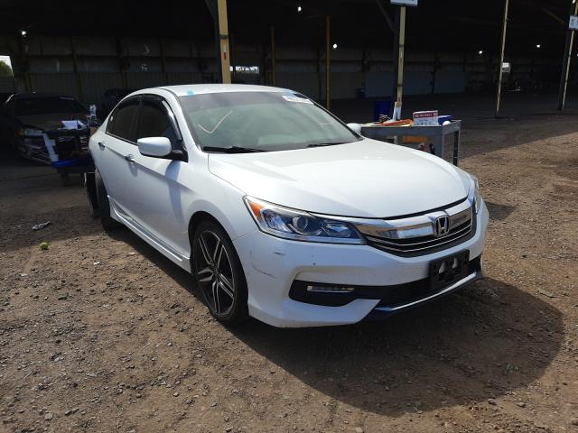 Salvage cars for sale from Copart Phoenix, AZ: 2017 Honda Accord Sport