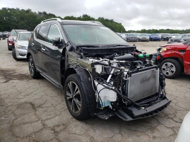 Salvage cars for sale from Copart Austell, GA: 2017 Nissan Rogue S