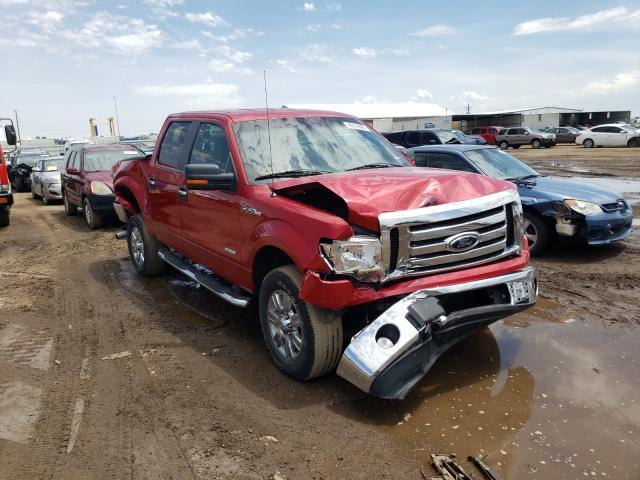 Vehiculos salvage en venta de Copart Brighton, CO: 2012 Ford F150 Super