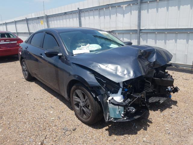 Salvage cars for sale from Copart Mercedes, TX: 2021 Hyundai Elantra SE