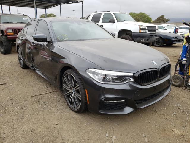 BMW Vehiculos salvage en venta: 2017 BMW 540 I