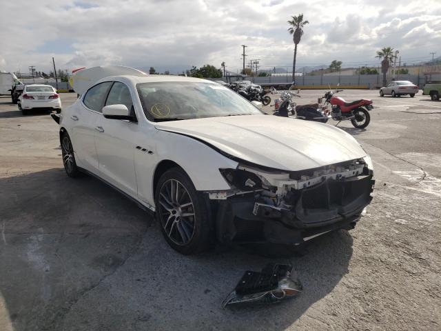 Maserati salvage cars for sale: 2018 Maserati Ghibli