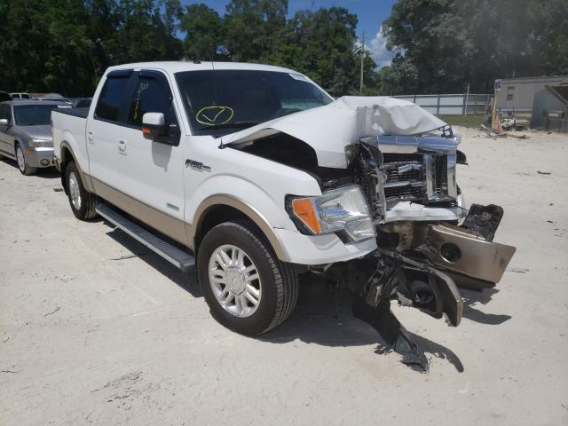Salvage cars for sale from Copart Ocala, FL: 2012 Ford F150 Super