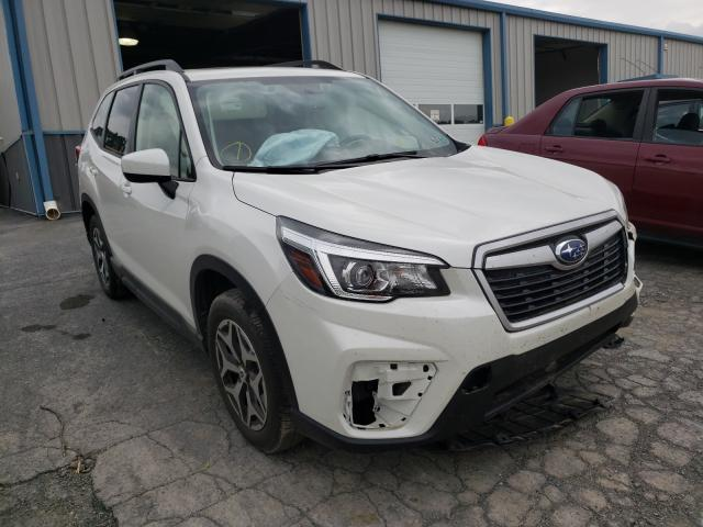 Salvage cars for sale from Copart Chambersburg, PA: 2020 Subaru Forester P