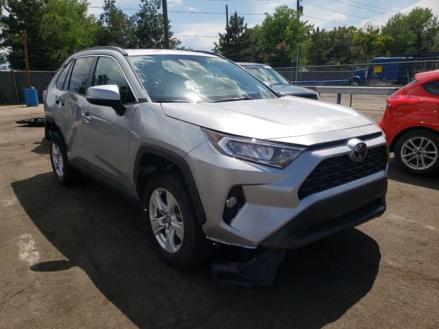 Salvage cars for sale from Copart Denver, CO: 2021 Toyota Rav4 XLE