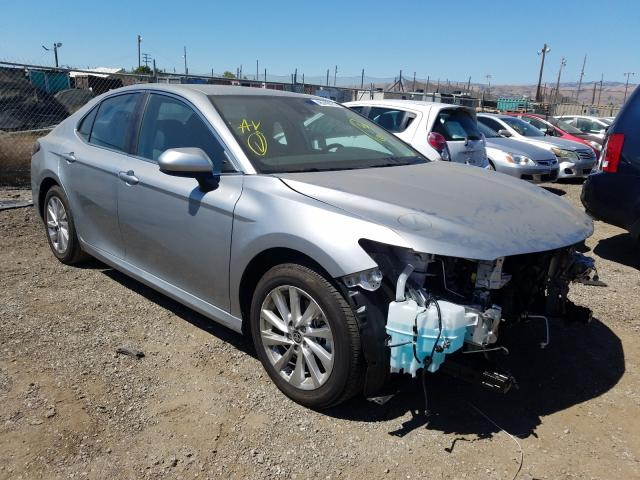 Salvage cars for sale from Copart San Martin, CA: 2021 Toyota Camry LE