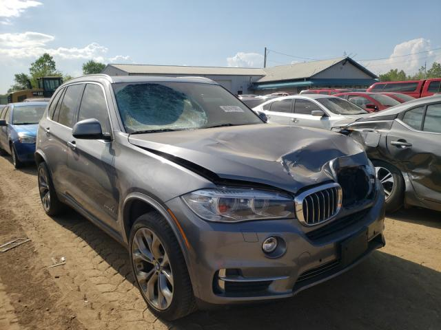 Salvage cars for sale from Copart Pekin, IL: 2015 BMW X5 XDRIVE3