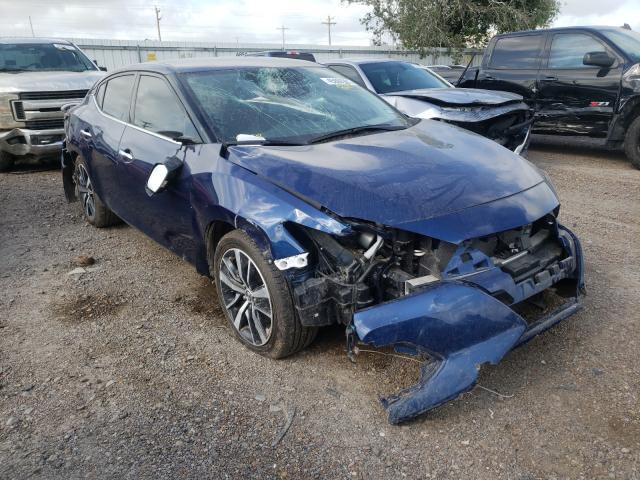 Salvage cars for sale from Copart Mercedes, TX: 2020 Nissan Maxima SV