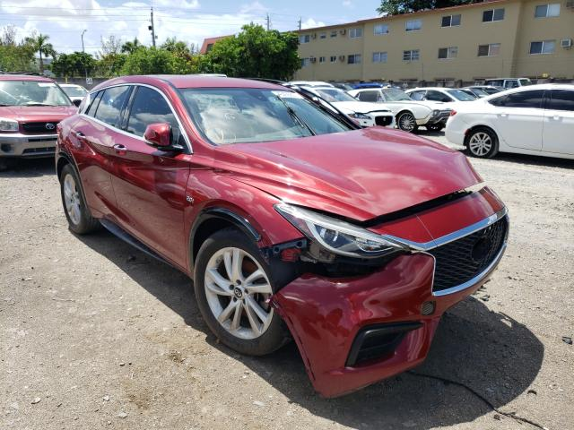 Salvage cars for sale from Copart Opa Locka, FL: 2017 Infiniti QX30 Base