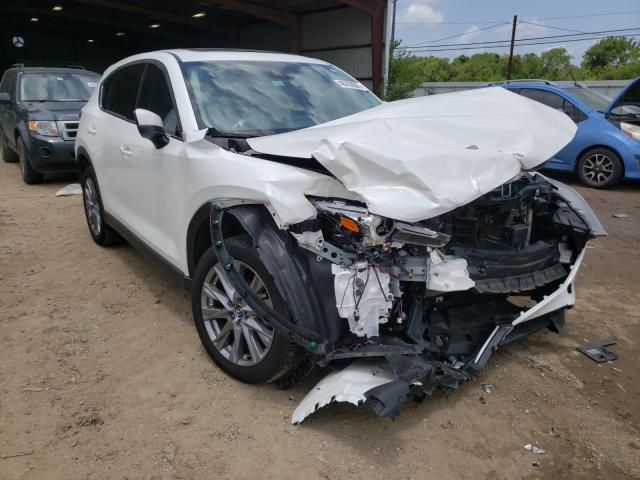 Salvage cars for sale from Copart Houston, TX: 2020 Mazda CX-5 Grand Touring