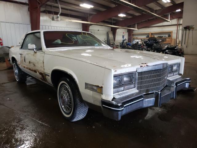 Cadillac Vehiculos salvage en venta: 1983 Cadillac Eldorado