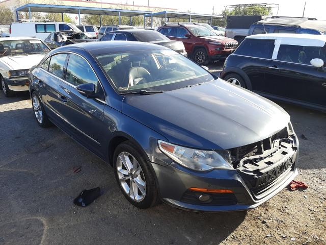 Salvage cars for sale from Copart Las Vegas, NV: 2010 Volkswagen CC Luxury