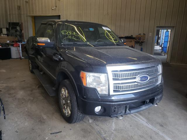 Salvage trucks for sale at Candia, NH auction: 2010 Ford F150 Super