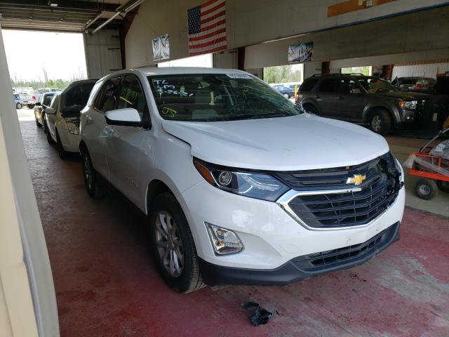 Salvage cars for sale from Copart Angola, NY: 2020 Chevrolet Equinox LT