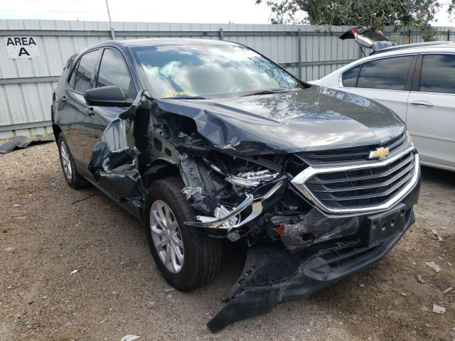Salvage cars for sale from Copart Mercedes, TX: 2019 Chevrolet Equinox LS