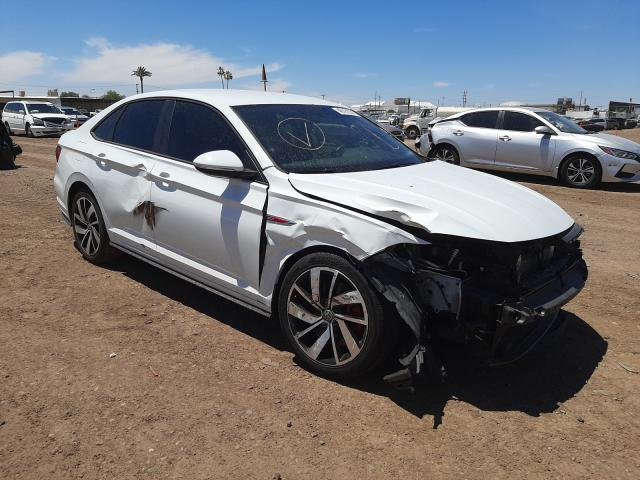Salvage cars for sale from Copart Phoenix, AZ: 2019 Volkswagen Jetta GLI