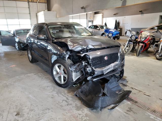 Salvage cars for sale from Copart Sandston, VA: 2018 Jaguar F-PACE Premium