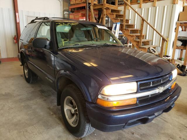 Chevrolet Blazer salvage cars for sale: 2002 Chevrolet Blazer