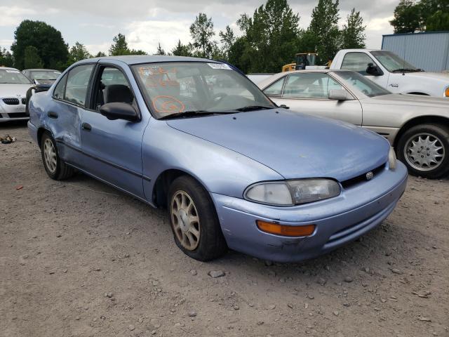 GEO salvage cars for sale: 1996 GEO Prizm LSI