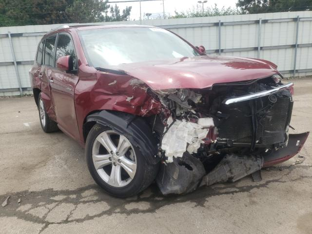 Vehiculos salvage en venta de Copart Moraine, OH: 2009 Toyota Highlander