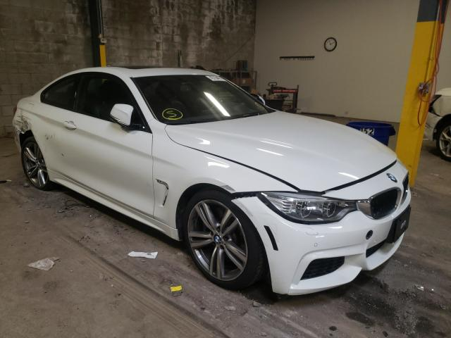 Salvage cars for sale from Copart Chalfont, PA: 2014 BMW 435 XI