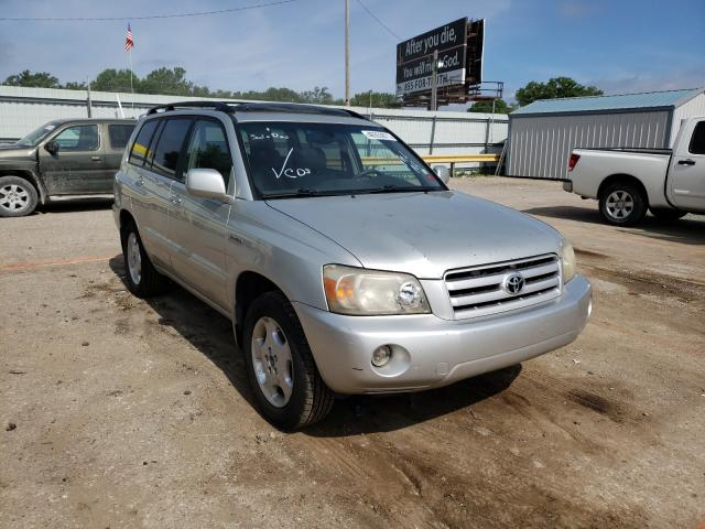 Salvage cars for sale from Copart Wichita, KS: 2004 Toyota Highlander