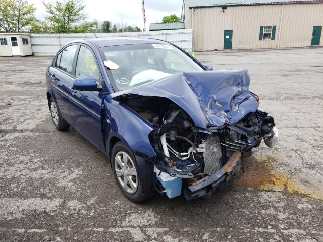 Salvage cars for sale from Copart Angola, NY: 2010 Hyundai Accent GLS