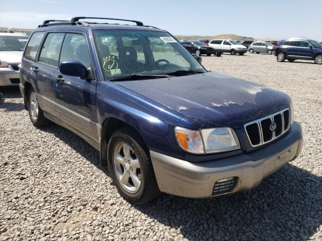 Subaru Forester salvage cars for sale: 2002 Subaru Forester