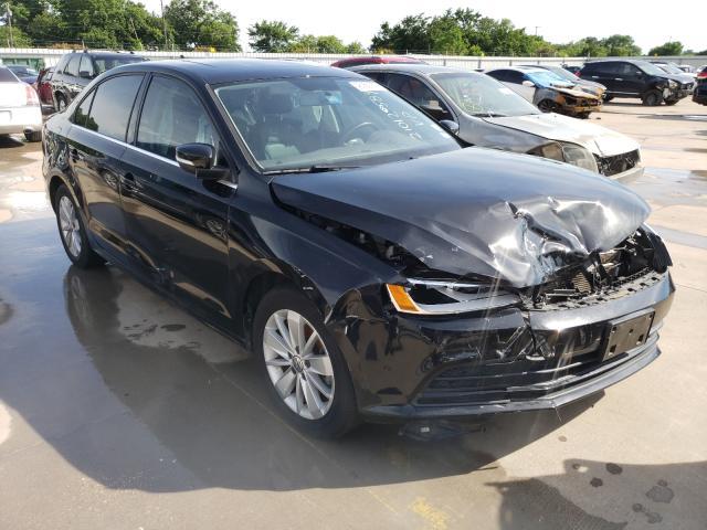 Vehiculos salvage en venta de Copart Wilmer, TX: 2015 Volkswagen Jetta TDI
