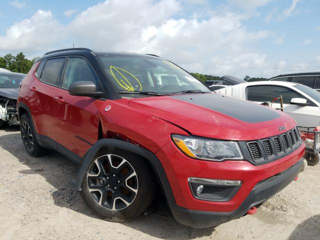 Salvage cars for sale from Copart Houston, TX: 2020 Jeep Compass TR