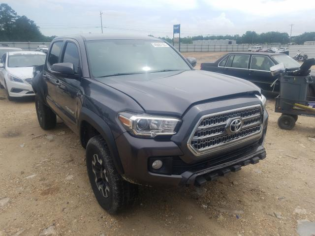 Salvage cars for sale from Copart Newton, AL: 2017 Toyota Tacoma DOU