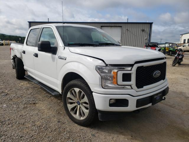 Salvage cars for sale from Copart Chatham, VA: 2018 Ford F150 Super