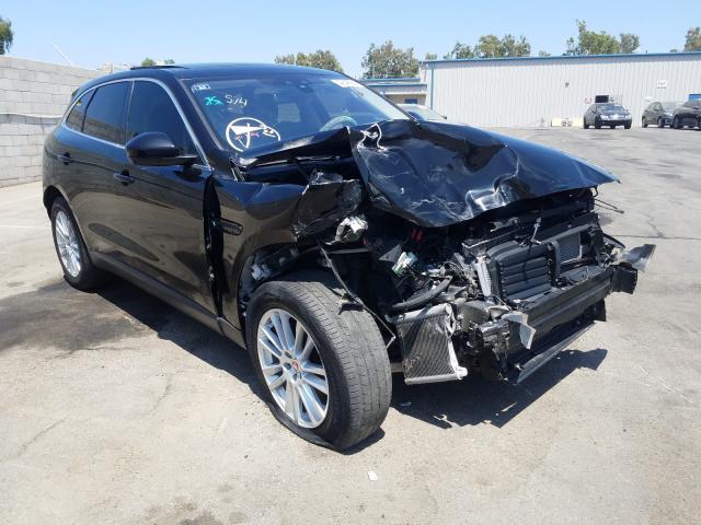 Salvage cars for sale from Copart Colton, CA: 2017 Jaguar F-PACE Premium