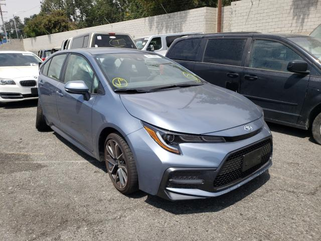 Salvage cars for sale from Copart Colton, CA: 2021 Toyota Corolla SE